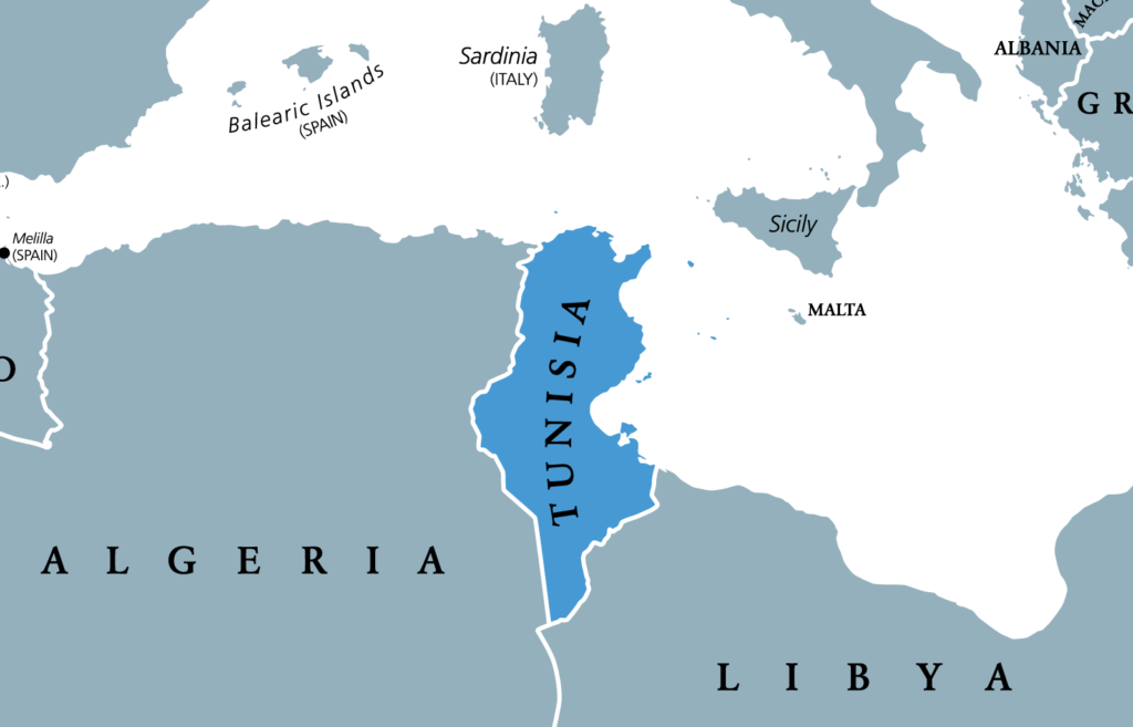 Tunisia North Africa Map.Home Pray4tunisia