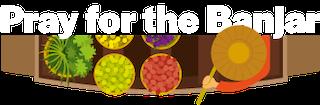 Pray4theBanjar Logo